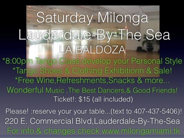 LA BALDOZA IN FORTLAUDERDALE-BY-THE-SEA